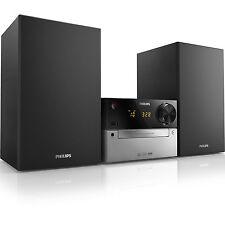 Philips Mini Stereoanlage Mcm2300 Schwarz-silber