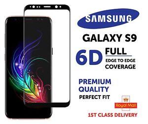 Samsung S9 Screen Protector Tempered Glass Gorilla 6D Full Edge Coverage Cover