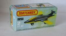 Repro Box Matchbox Superfast Nr. 02 S-2 Jet