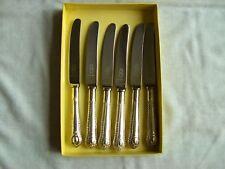 """George Butler, Sheffield, Plata Plateado Epns """"Cangilón"""" mantequilla/cuchillos de lado 8.75"""""""