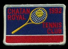 Chatan Royal Tennis Club 1992 Okinawa Japan Patch J-1