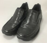 Cole Haan Loafers Shoes Mens 9.5M Traction Sole Black Leather
