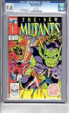 New Mutants #92 9.8 CGC W/P  App...'The CARNIVAL...of.. DEATH'  Liefeld  Cover