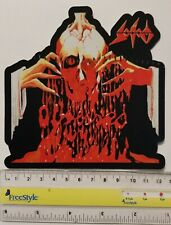 Sodom - Obsessed -  printed lasercut patch - FREE SHIPPING