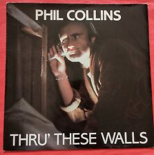 """Thru These Walls Phil Collins single pop record disc 7"""" 45 Do You Know 1982"""