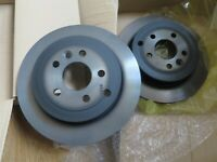LAND ROVER FREELANDER 2 3.2 & 2.0 REAR BRAKE DISCS PAIR !!!GENUINE!!! LR001019