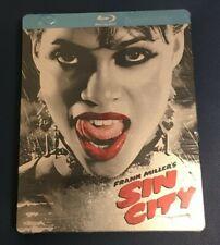 Sin City Steelbook Blu-ray 2 Disc-Robert Rodriuez,Frank Miller,Quentin Tarantino