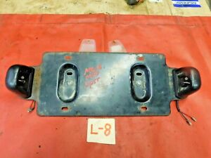 MGB, MG Midget, Sprite, Triumph Spitfire 1500, Rear License Bracket & Lights, !!