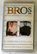 BROS - CHANGING FACES - Musicassetta Cassette Tape MC K7 Sealed