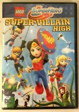 LEGO DC SuperHero Girls Super-Villain High DVD Brand New Sealed Free Shipping