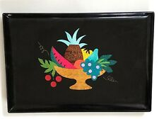 VINTAGE Couroc Tray RARE VINTAGE Couroc of Monterey Drink Tray Fruit Bowl