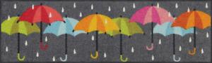 Ab Lager Schuhabstellmatte Salonloewe Raindance ca.30x100cm Fußmatte waschbar