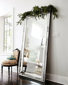 750MM X 1600MM LARGE WALL MIRROR-ART DECO-bedroom metro dressing leaning