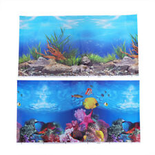 1PC Fish Tank Sticker Wallpaper Background Decorative Adhesive Pictures