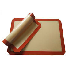 NEW Silicone baking mat half-size 42*29.5cm Silpat non-stick silicone baking HL