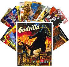 24 Postkarten Set * Godzilla Kaiju Monster Vintage Film Plakat CC1001
