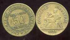 50 centimes chambre de commerce 1921  ( bis )