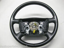 03 VW Passat GLX B5.5 Steering Wheel With Multifunction Black Leather 02 04 05
