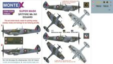 Montex Super Mask 1:48 Spitfire Mk.XVI for Eduard Kit Spraying Stencil #K48254