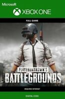 Playerunknown's Battlegrounds PUBG Xbox One Key Digital Code Region Free