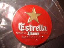 Estrella  Damm,  Spanish Beer,   Enamel Badge