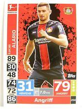 Match Attax 2018/19 Bundesliga - #204 Lucas Alario - Bayer 04 Leverkusen