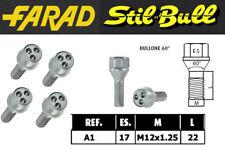 A1 KIT BULLONI ANTIFURTO FARAD STILL BULL PER FIAT 500L 2012/>