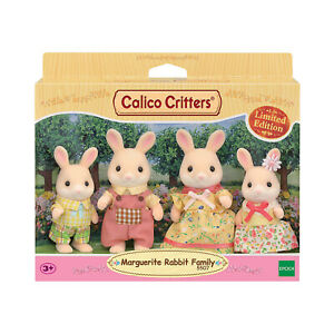 Calico Critters Marguerite Rabbit Family Set  NEW IN STOCK