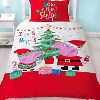 Peppa Pig, Christmas Single Bedding - Noel
