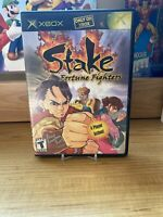 Stake: Fortune Fighters (Microsoft Xbox, 2003) No Manual, Replacement Case
