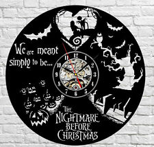 The Nightmare Before Christmas_Exclusive wall clock made vinyl record_GIFT 816