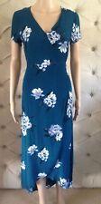 DOTTI Size 8 Floral Wrap Dress