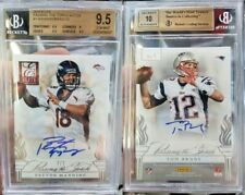 🔥BGS 9.5 2014 ELITE PASSING THE TORCH AUTOS TOM BRADY/PEYTON MANNING #2/2🔥