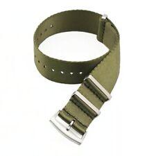 Premium NATO Horlogeband / Watch Strap - Leger Groen / Army Green 22mm