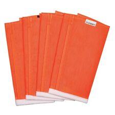 Shoofly Leggins Equine Horse Fly Leg Protection Large Orange