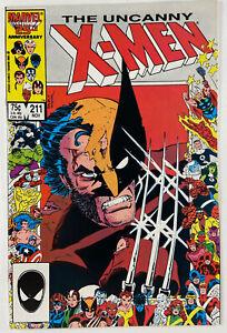 Uncanny X-Men 211 1st full app. of Marauders Near Mint NM (9.4) Wolverine
