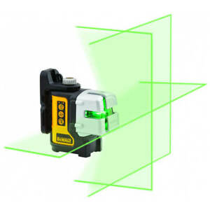 DeWalt DW089CG -XJ  3 Way Self-Levelling Multi Line Green Laser Level