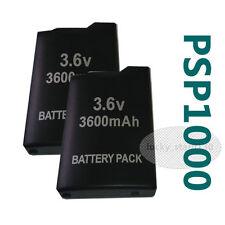 2x New 3.6V 3600mah Rechargeable Battery for Sony PSP-110 PSP-1001 PSP 1000 US