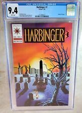 Harbinger #7 With Coupon Valiant Torque Funeral 1992 CGC 9.4 NM WP - Comic H0184