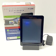 """Pandigital Tablet eReader Novel 7"""" Color Touchscreen, 2 GB, Complete"""