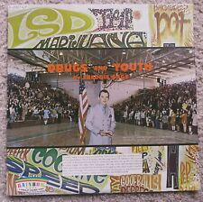 "FREDDIE GAGE "" DRUGS AND YOUTH "" RARE VINYL LP Sealed! R-2007-LP 1971"