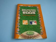 2005 MLB BASEBALL OFFICIAL FAN GUIDE AND SCHEDULES