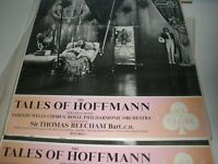 Tales Of Hoffmann Sir Thomas Beecham 2-Record Set 1962 Ace Of Clubs ACL 177/8