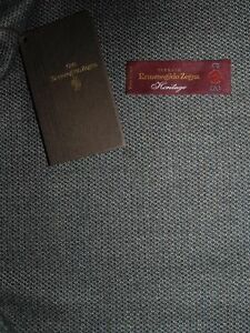 Ermenegildo Zegna Tessuto lana giacca uomo Heritage 2,5 m Made in Italy
