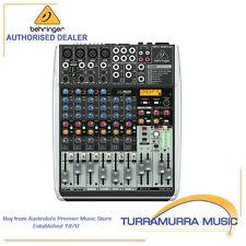 Behringer Xenyx QX1204USB - 12-Input Audio Mixer w/ KLARK TEKNIK FX Processor