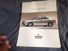 1996 Suzuki Esteem USA Market Brochure Prospekt