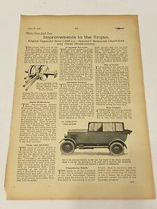 RARE TROJAN Original A4 Car Magazine Advert Jun 29th 1926 Car Advertising L5