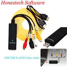 Easycap USB Audio VHS to DVD Converter Capture record analog video to digital XG