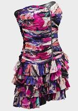 Silk Blend Sleeveless Party Petite Dresses for Women