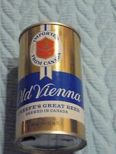 Gold O'KEEFE OLD VIENNA BEER CAN Pull Tab BOTTOM open 11.5 fl. oz empty STEEL #2